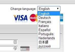 國際信用卡支付