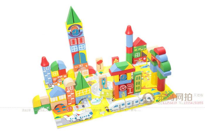 儿童玩具积木拍摄-济南笨鸟网拍