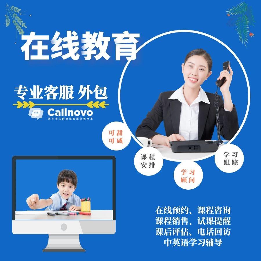在線教育培訓學習顧問-中文/英語