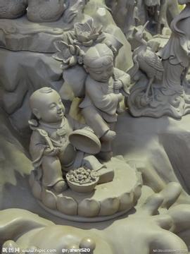 精工细作曲阳石雕产品