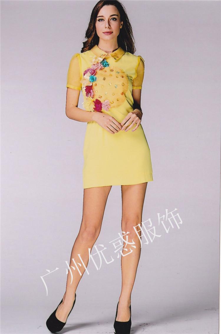 廣州優惑服飾專做折扣品牌女裝批發