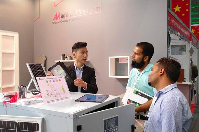 中国制造网亮相2018卡塔尔国际建材展